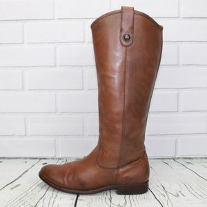FRYE Melissa Button 2 Riding Boots Size 7.5